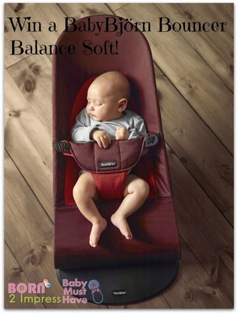 BabyBjörn Bouncer Balance Soft Review and Giveaway | Giveaways | Scoop.it