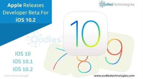 Apple Releases Developer Beta For iOS 10.2 | Mobile-and-web-application | Scoop.it