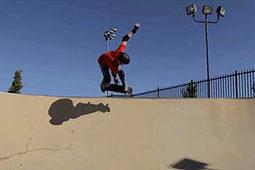 Incredible footage of BLIND teenage lad skateboarding | skateboarding | Scoop.it