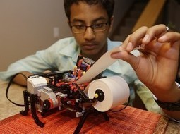 A low cost Braille printer invented by 13-year old Shubham - Maxability | Bring back UK Design & Technology | Scoop.it