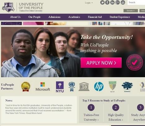 Universidad virtual ofrece títulos gratuitos | universidades virtuales | Scoop.it