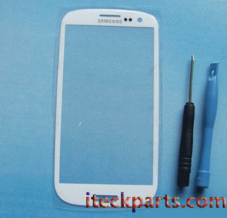 White Outer Touch Glass Screen Replacement for Samsung Galaxy S3 I9300 | iteckparts hot gadgets | Scoop.it