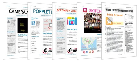 App Task Challenges for Teachers - Learning in Hand | iPads in Education | Scoop.it
