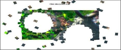 Video dans un canvas html5 - game maker / faire des jeux | Web mobile - UI Design - Html5-CSS3 | Scoop.it