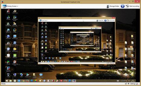 Screencast Capture Lite - un logiciel pour capturer des vidéos de son écran | Tice Fle, Ele | Scoop.it