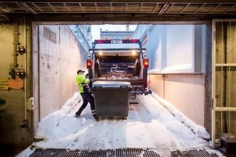 Jäteauton kuljettaja on kuin huippu-urheilija - näin monta askelta työpäivän aikana tulee mittariin | Sunnuntaisuomalainen | Scoop.it