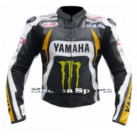 Men's Motorbike Motorcycle Yamaha Monster MotoGP Ben Spies Leather Jacket | Adidas TT10 Black Hockey Stick | Scoop.it
