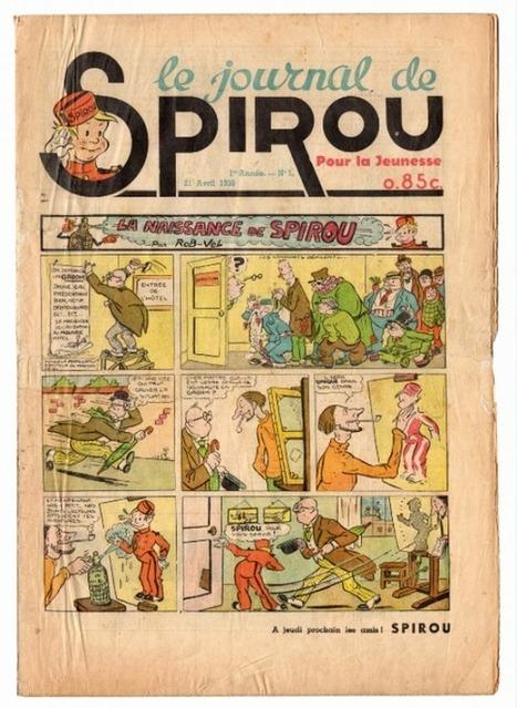 Anniversaire: le journal Spirou fête ses 77 ans ce mardi | Merveilles - Marvels | Scoop.it