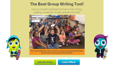 Conduct Group Writing Projects with BoomWriter | EdTechReview | Scoop.it