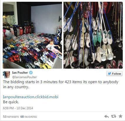 Ian Poulter se vend aux enchères… et double la mise – | actualité golf - golf des vigiers | Scoop.it