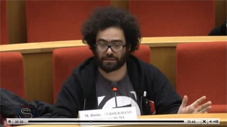 "» Jérémie Zimmermann : audition ""Internet et terrorisme djihadiste"" au Sénat 