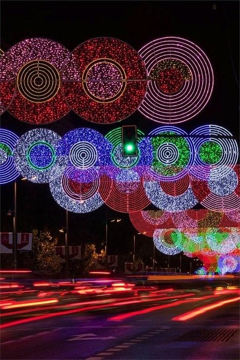 #Madrid's #City #Streets #Festive #Holiday#Lights   Le It e Amo ✪   Scoop.it