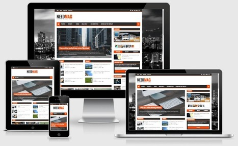 NeedMag Responsive Magazine Blogger Template | Hax9 | Blogger themes | Scoop.it
