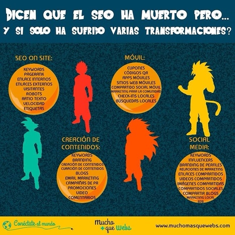 Infografia el seo no ha muerto, se transforma by muchomasquewebs | Infografias | Scoop.it
