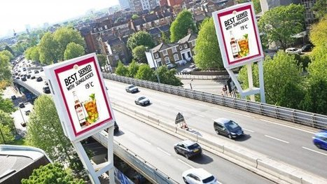 Pimm's dives into summer with temp-activated digital signage campaign   digital signage   Scoop.it