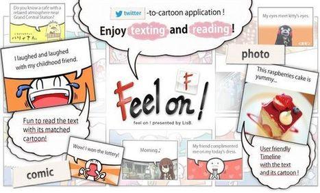 Feel on!, cliente Twitter para tu smartphone que muestra los tweets como viñetas de cómic | Personal y hobbies | Scoop.it
