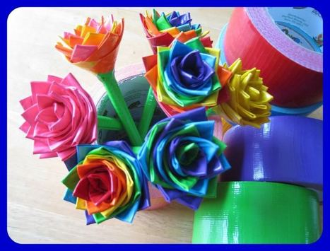 45 Creative Duct Tape Crafts & Projects | Garden 1235 | Scoop.it