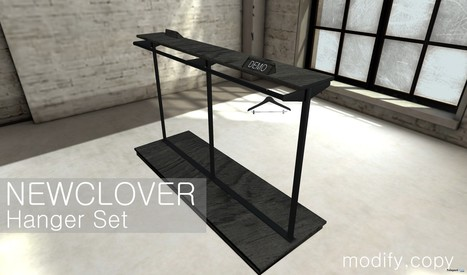Hanger Set Group Gift by New Clover | Teleport Hub - Second Life Freebies | Second Life Freebies | Scoop.it