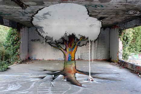 Anamorphic Graffiti by TSF Crew | Arts graphiques | Scoop.it