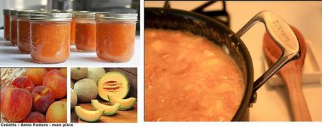 Recette de confiture de pêches melons, au miel et aux épices   Petits déjeuners et pains de la rue, dans le monde   Scoop.it