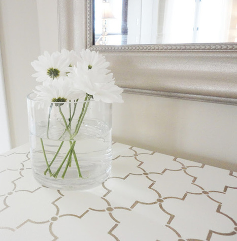 LiveLoveDIY: How To Paint Furniture: Stenciling | Crafts to Try | Scoop.it