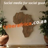 """Social media for social good in Africa"" www.cyberafrica.co.za 