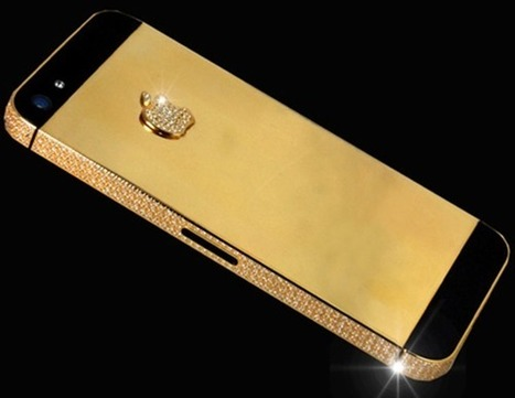 This Gold And Diamond iPhone 5 Is Worth $15 Million | Expensive hobbies | Scoop.it