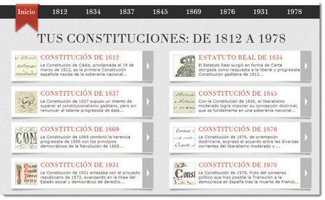 Google lanza web dedicada a la historia constitucional española.- | Libertad de imprenta | Scoop.it