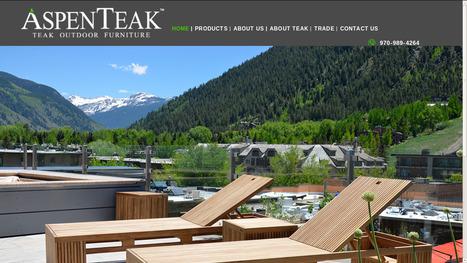 AspenTeak Outdoor Patio Furniture in Los Angeles, CA | Teak Outdoor Furniture and Patio - AspenTeak | Scoop.it
