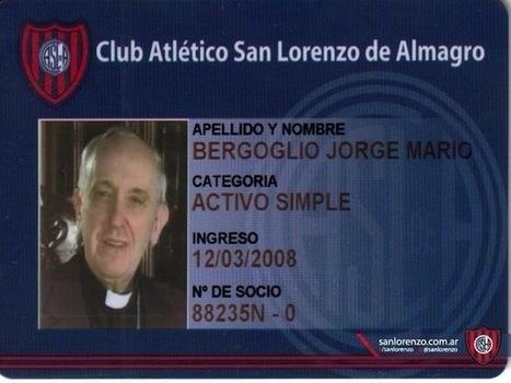 Le pape François 1er, fan de football et supporter de San Lorenzo | Everything you need… | Scoop.it