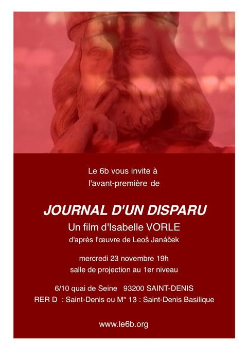 Janacek, Journal d'un disparu, par Isabelle Vorle | Muzibao | Scoop.it
