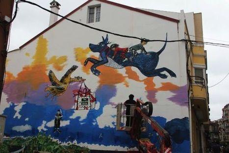 Spanish Town Offers Up Its Walls to Art | Artinfo | Pintura y Reformas-decorabad | Scoop.it