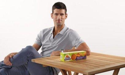 Nutrition & Santé s'offre le tennisman Novak Djokovic pour promouvoir sa marque Gerblé | Toulouse et Midi-Pyrénées | Scoop.it