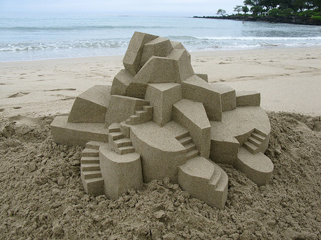 Sand Castle by Calvin Seibert | Harmony Design, Art, and Science | Scoop.it