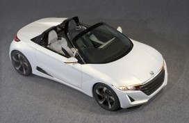 Honda Previews New Convertible Sports Car With S660 Concept - Motor Authority   HondaSeekonk   Scoop.it