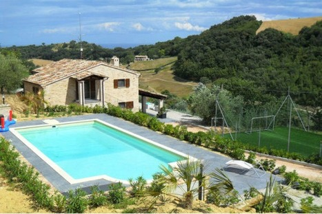 Villa with pool for sale Le Marche:Casa Ghirlanda, Montefiore dell'Aso | Le Marche Properties and Accommodation | Scoop.it