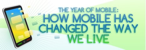 How Mobile Has Changed the Way We Live (Infographic) | The Campus Socialite - Campus Lifestyle for College Students by College Students | Infographics | Scoop.it