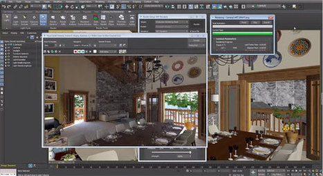 Autodesk is going to introduce 3DS Max 2017 | Updates on 3D modeling world | Scoop.it
