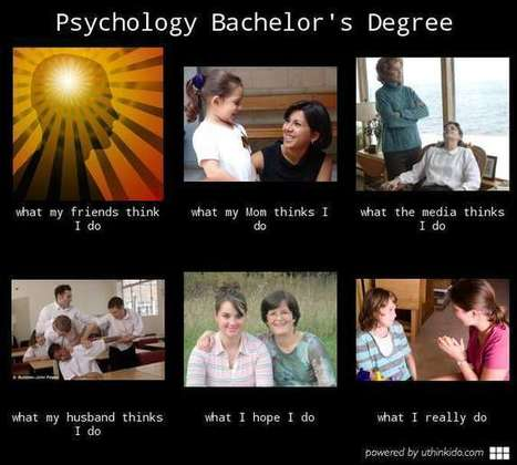 Psychology Bachelor's Degree | What I really do | Scoop.it