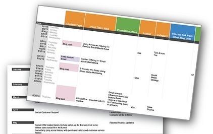 How to Create a Social Media Calendar that Follows a Clear Strategy | Marketing & Social Media | Scoop.it