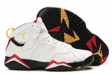 Air Jordan 7 Retro White/Black/Red Women's   share and want   Scoop.it