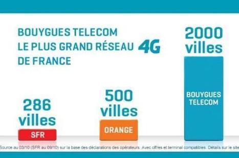 SFR débouté de sa plainte contre la pub 4G de Bouygues   Free Mobile, Orange, SFR et Bouygues Télécom, etc.   Scoop.it