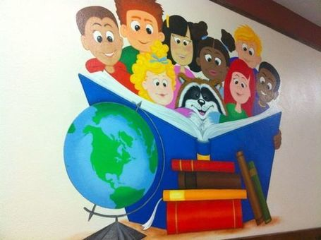 Library murals - a pet peeve | LibraryLinks LiensBiblio | Scoop.it