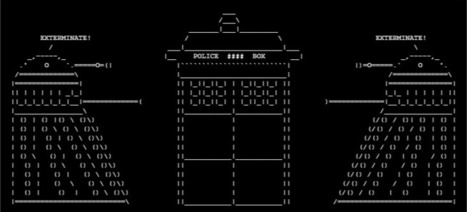 Exterminate! | Ascii art | Ascii Art And Haiku | ASCII Art | Scoop.it