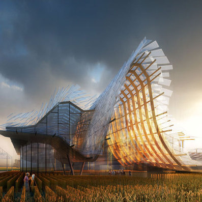 China's Milan expo pavilion to feature wavy roof and indoor crop field | softwares | Scoop.it