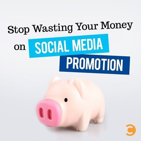 Stop Wasting Your Money on Social Media Promotion | Digital Brand Marketing | Scoop.it
