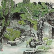 Chinese Buildings Paintings for sale! | Artisoo Chinese Painting | Scoop.it