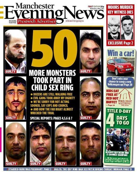 Nine white men are found guilty of grooming young Asian girls | Race & Crime UK | Scoop.it