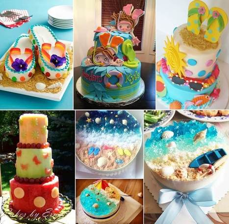 8 Cool Summer Inspired Cake Ideas   Stylish Board   Scoop.it