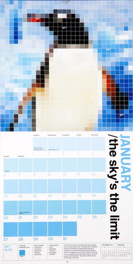 30 stunning examples of calendar design | Graphic design | Creative Bloq | Laura Bourse | Scoop.it